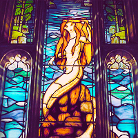 Harry Potter Mermaid Stained Glass Pictures To Pin On