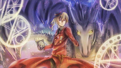 Romania from Hetalia--Okay fine, Romania's not actually a vampire, but he's close enough, right? Actually my favorito! vampire is Dracula. The original Dracula from the book por Bram Stoker. I amor how he can crawl out the window. xP
