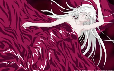 Moka Akashiya would be one of my favorites. She is from Rosario Vampire.
