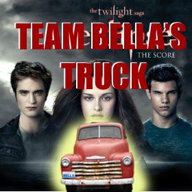 My favorito! vampire would have to be Bella's truck, from Twilight. >:D