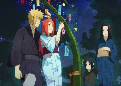 Minato and Kushina with Itachi and Mokito(? Not sure what his mother's name is) from NARUTO -ナルト- ! DUH!!❤❤
