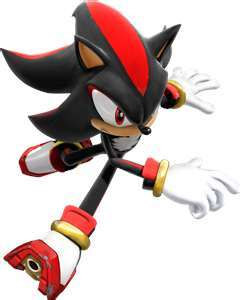 Shadow the hedgehog!'Cause he's the ultimate!^.^
