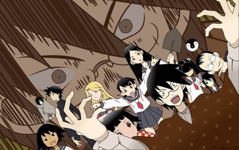 Sayonara Zetsubou Sensei It's like, seriously funny and I haven't seen one person in this club mention it :(