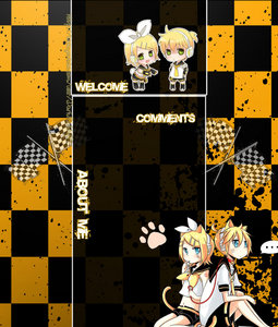 Rin and Len. Yellow is deffinetly my favorit color.