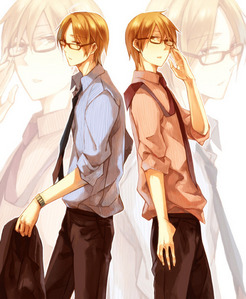 Asaba twins from Kimi to Boku