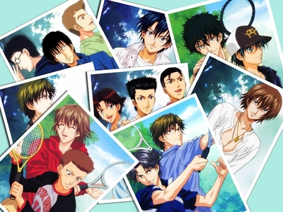 Prince of Tennis....It's very interesting and about tennis!!!!<33