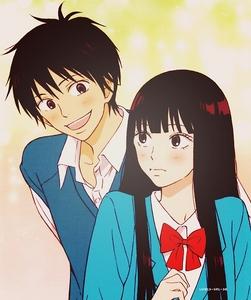 Kazehaya and Sawako >3< They're just so darn adorable!