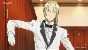 I always though Gai from Guilty Crown was pretty, he has pretty eyes and pretty hair