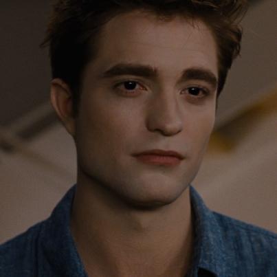 Mine is Edward Cullen,from Twilight saga played oleh Robert Pattinson.I cinta both Edward&Robert.