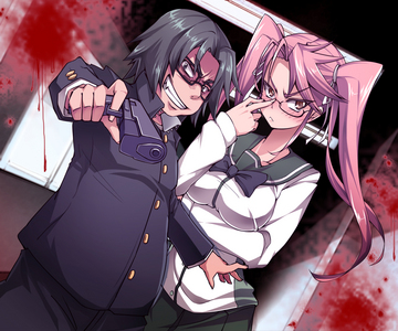 "High School of the Dead Kohta Hirano = The gun-toting definition of ""badass"""