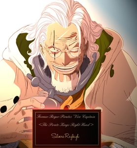 Silvers Rayleigh from One Piece He may be an old retired pirate, but he can still kick پچھواڑے, گدا