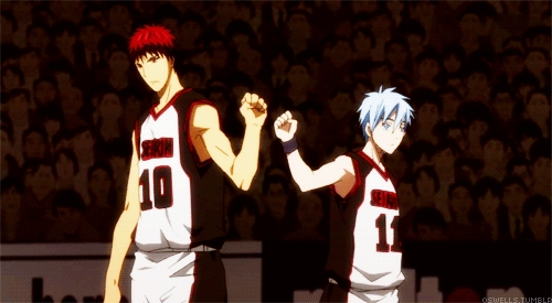 Kuroko and Kagami X3 But I'm planning to change it soon~