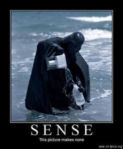 Sense.....