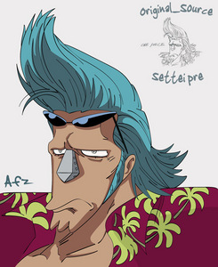 Franky from One Piece!