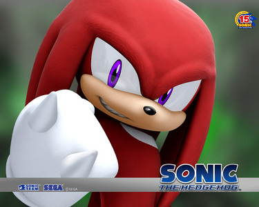 Knuckle the Echidna because he's power type.