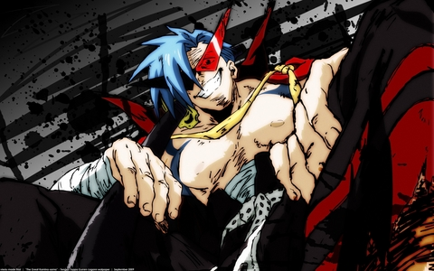 Kamina from Gurren Lagann