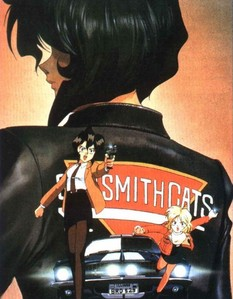 Gunsmith Cats. Even though they دکھائیں pictures of them with cat tails, it's only for artistic reasons. No actual cat girls in this show! Cat girl image: http://image.funscrape.com/images/g/gunsmith_cats_gunsmith_cats-13331.jpg