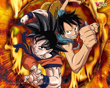 Luffy and गोकु :)