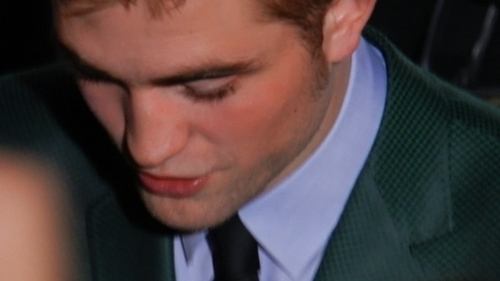 here is mine of Robert Pattinson looking down.