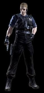 ALBERT WESKER I know he's dead and he killed off a couple people but he still looks badass