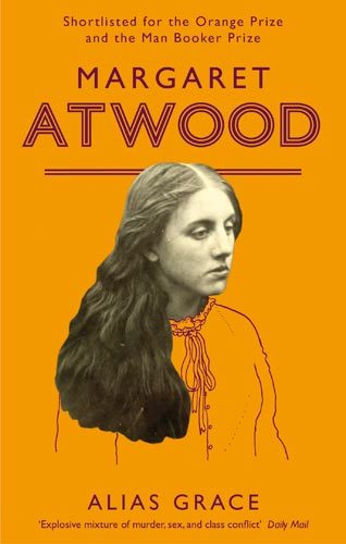 """""""I told him to change his costume, and I would do the same; for if people came asking after us, it might throw them off."""" ~ Margaret Atwood, [i]Alias Grace[/i] I've never actually read this book before - it just happened to be on my shelf - but now I want to. It sounds interesting."""
