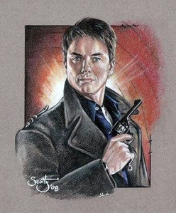 A drawing that I found on Google of John Barrowman :)