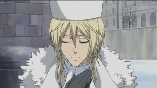 I bet everyone is going to hate me but i don't care. but i just thinks The Count 또는 what every his name is from Black Butler is so annoying! BUT i'm not saying he isn't funny! X)