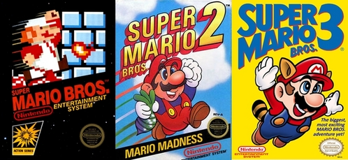 I like the old Mario games from NES. Haha, I'm old fashion.