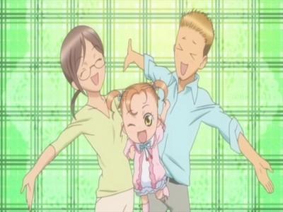 Here is Amu and Ami's parents Tsugumu and Midori.