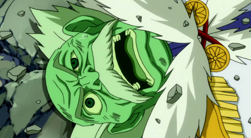 Master Makarov from Fairy Tail isn't doing so well.