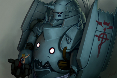 Ed and Al have cute voices. Especially Alphonse! :-D
