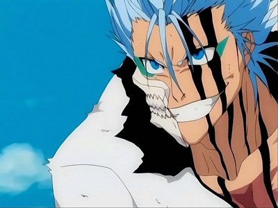Grimmjow.. he's always fired up. o_o