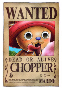 Chopper from One piece. He's got the cutest voice ever! ^w^
