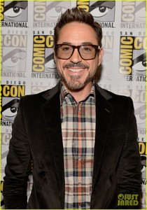 Bobby, ComicCon 2012 promoting the Avengers and Iron Man 3 :)
