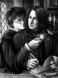 My favourite kanone pairing has got to be Ron Weasley and Hermione Granger. They're so cute together ^_^ But my favourite non-cannon pairing is definitely Harry Potter and Severus Snape xx