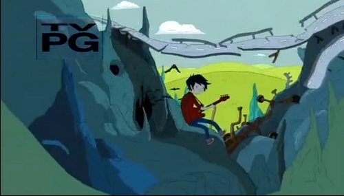 Marceline Plays The Axe Guitar But What Does Marshall Lee