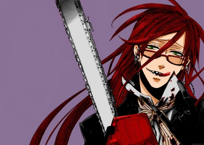 Grell Don't wanna get under that scythe