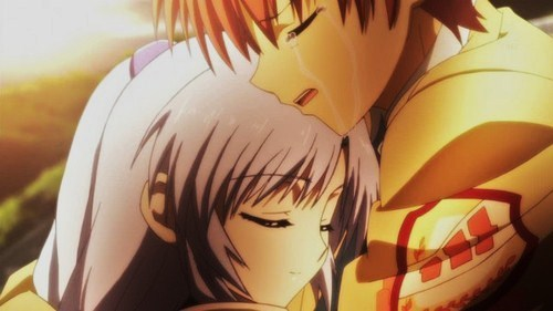 Anime Characters Hugging : Post an anime character crying answers fanpop