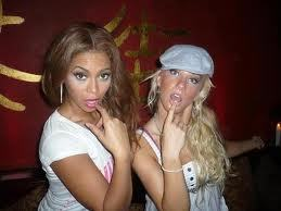 heather morris and beyonce XD