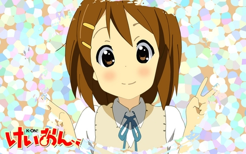 Yui from K-on! X3
