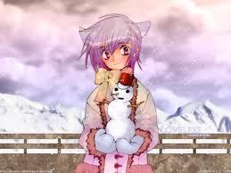 i just started re-watching loveless so i'm going with that ritsuka holding a snowman