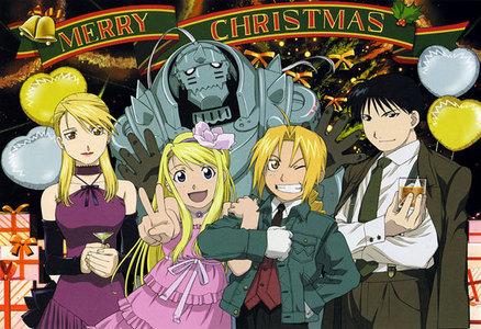 Full metal Christmas! everyone looks so good here especially Riza!