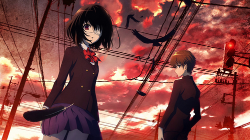 'Another' It's a good horror anime.