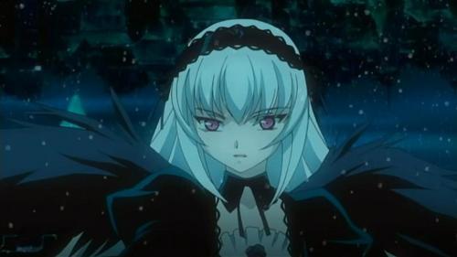 Suigintou from Rozen Maiden is a dandere.