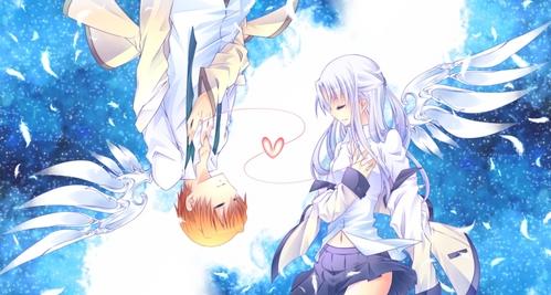 Otonashi-kun and Kanade-san from ángel Beats!