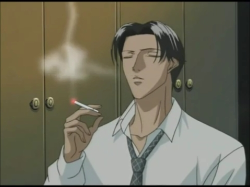 Anime Characters Smoking : Post a anime character smoking answers fanpop