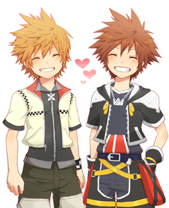 how about Roxas AND Sora?