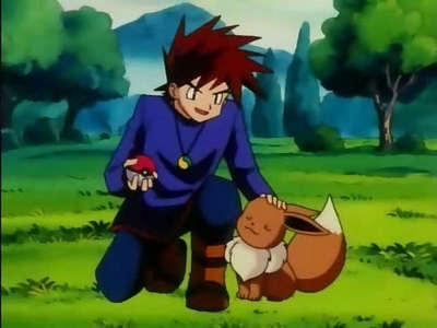 Shigeru Okido/ Gary Oak from Pokemon! X3