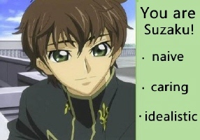 I got Suzaku. I chose honestly.