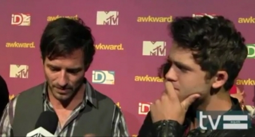 Stephen Lunsford and Ian Bohen